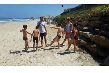 סיכום אימון ים – ילדים – קיץ 2014